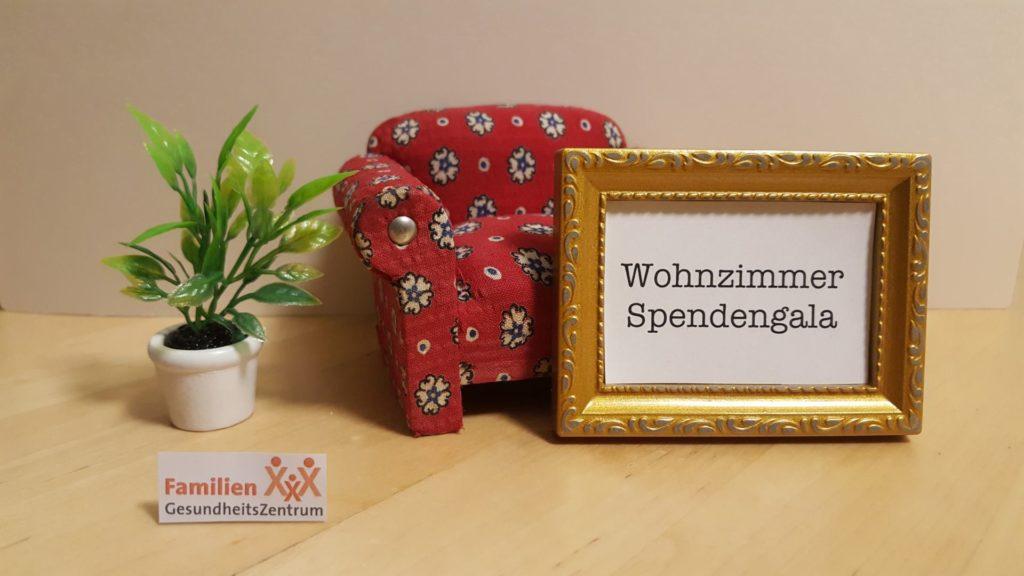 Wohnzimmer Spendengala des Familienzenrums Frankfurt