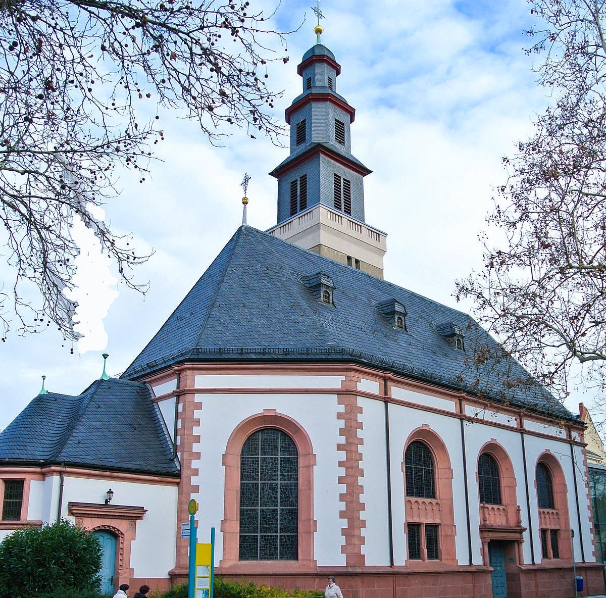 Melanchton kirche Fechenheim