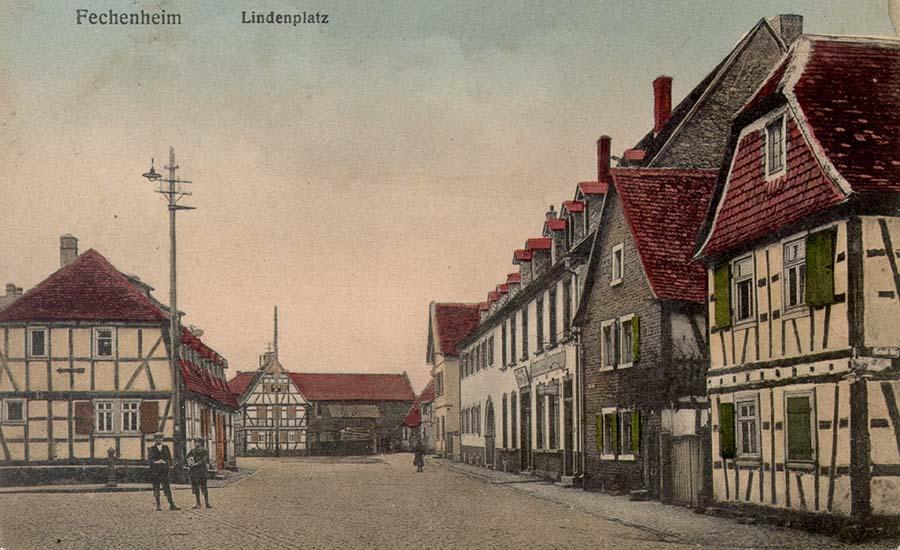 Linneplatz Postkarte